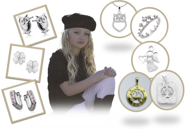 Dívčí šperky